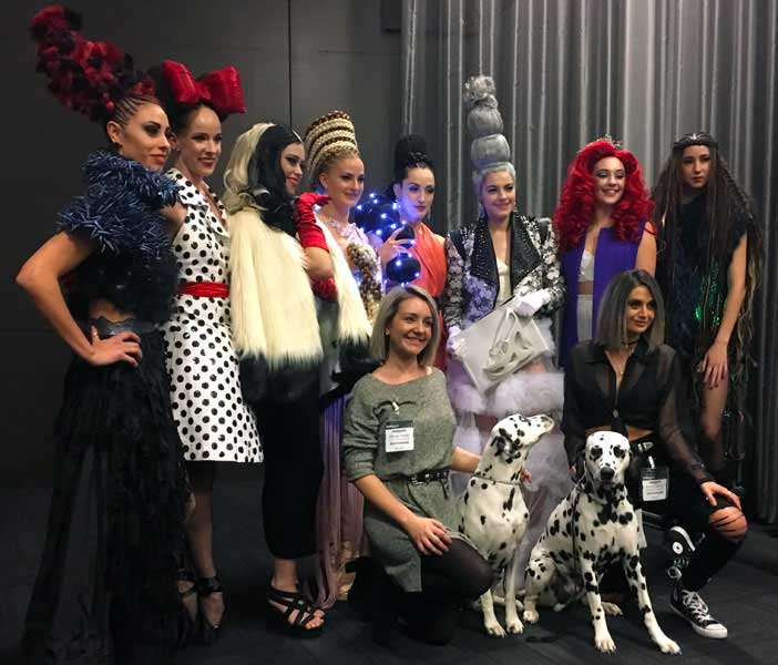 Disney Divas backstage cast and crew