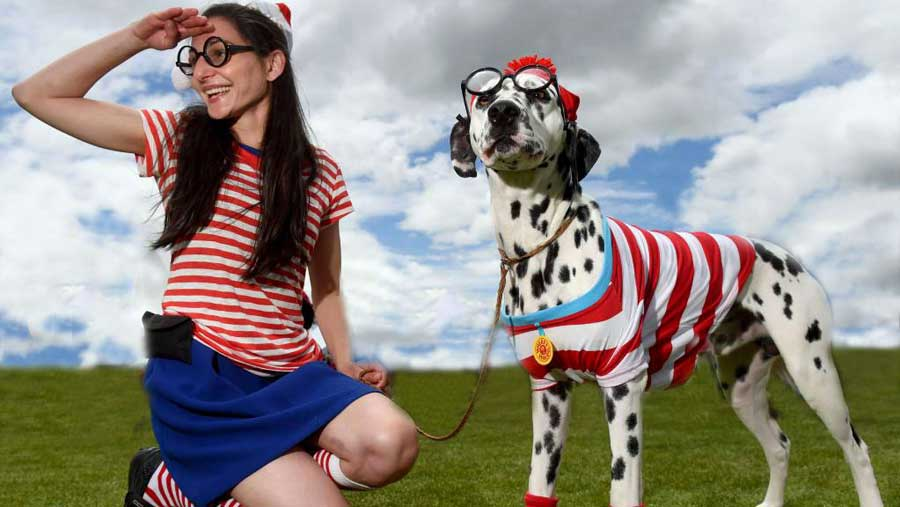 Where's Wally photo shoot