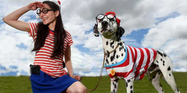 Wheres Wally Dalmatian fashion photo shoot